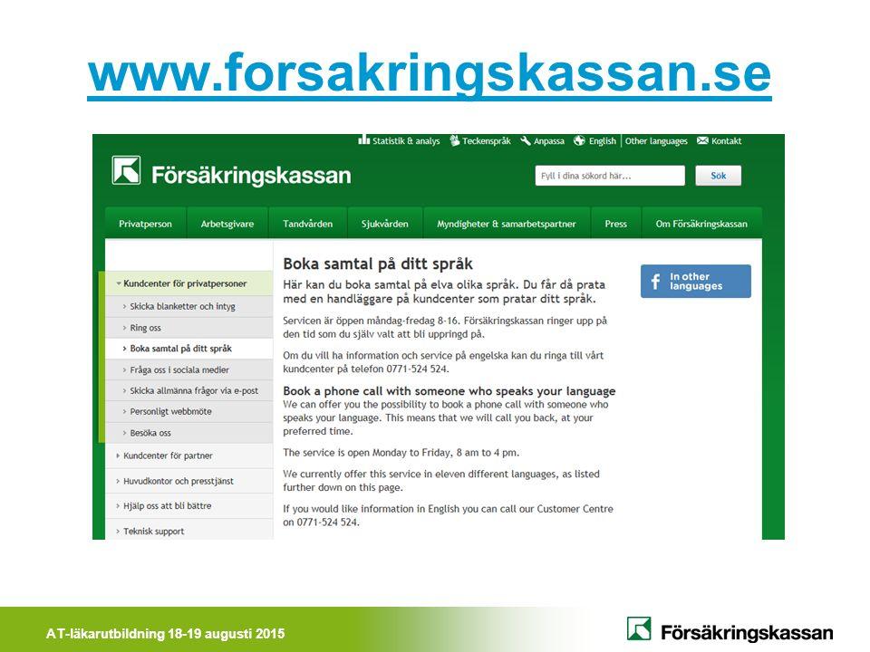www.forsakringskassan.se