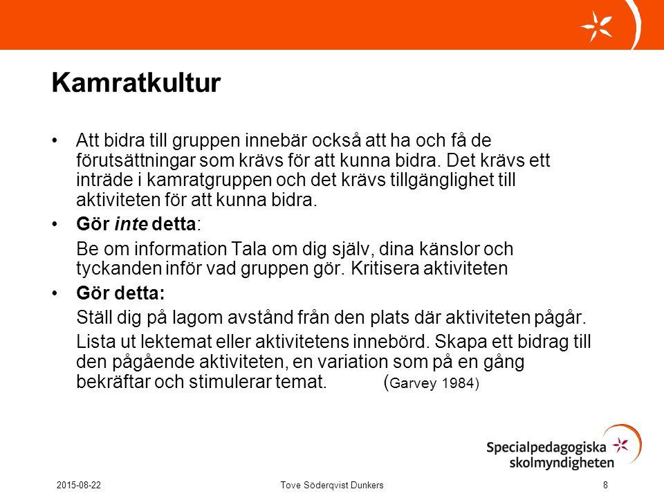 Tove Söderqvist Dunkers