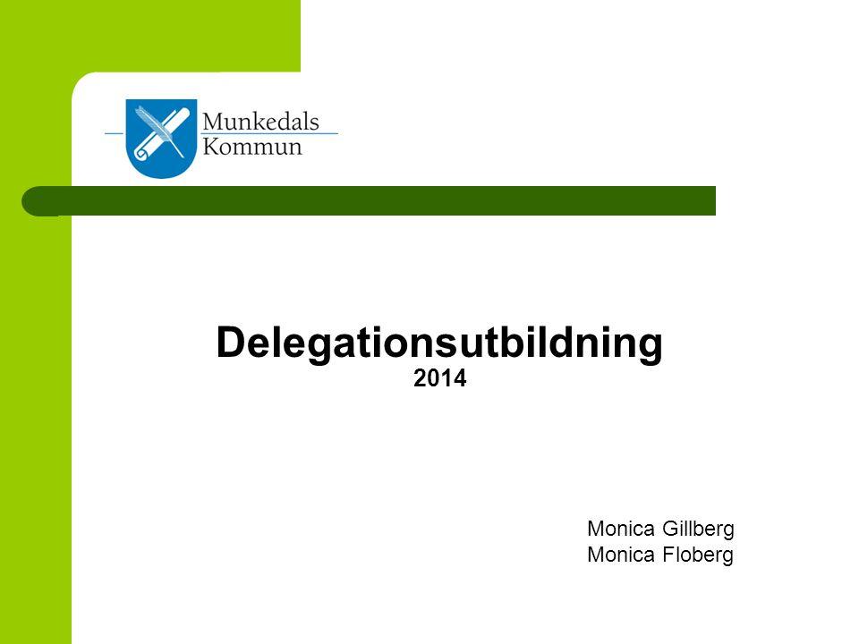 Delegationsutbildning 2014