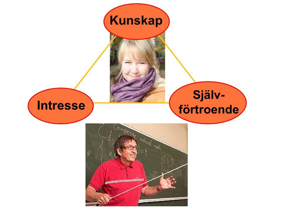 Kunskap Intresse Själv-förtroende 43
