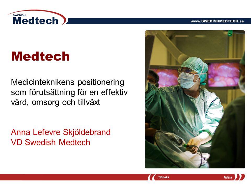 Medtech Medicinteknikens positionering