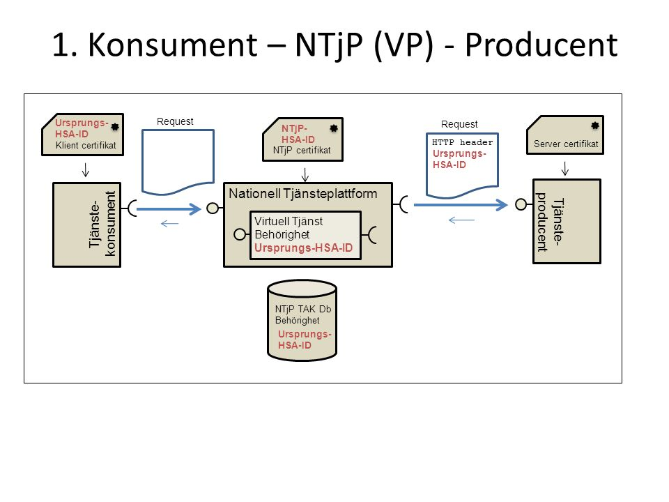1. Konsument – NTjP (VP) - Producent