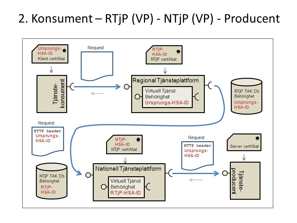 2. Konsument – RTjP (VP) - NTjP (VP) - Producent