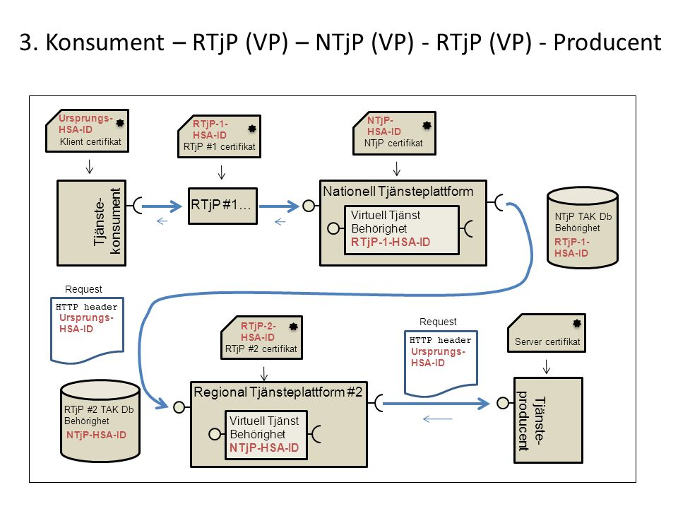 3. Konsument – RTjP (VP) – NTjP (VP) - RTjP (VP) - Producent