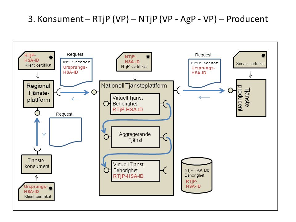 3. Konsument – RTjP (VP) – NTjP (VP - AgP - VP) – Producent