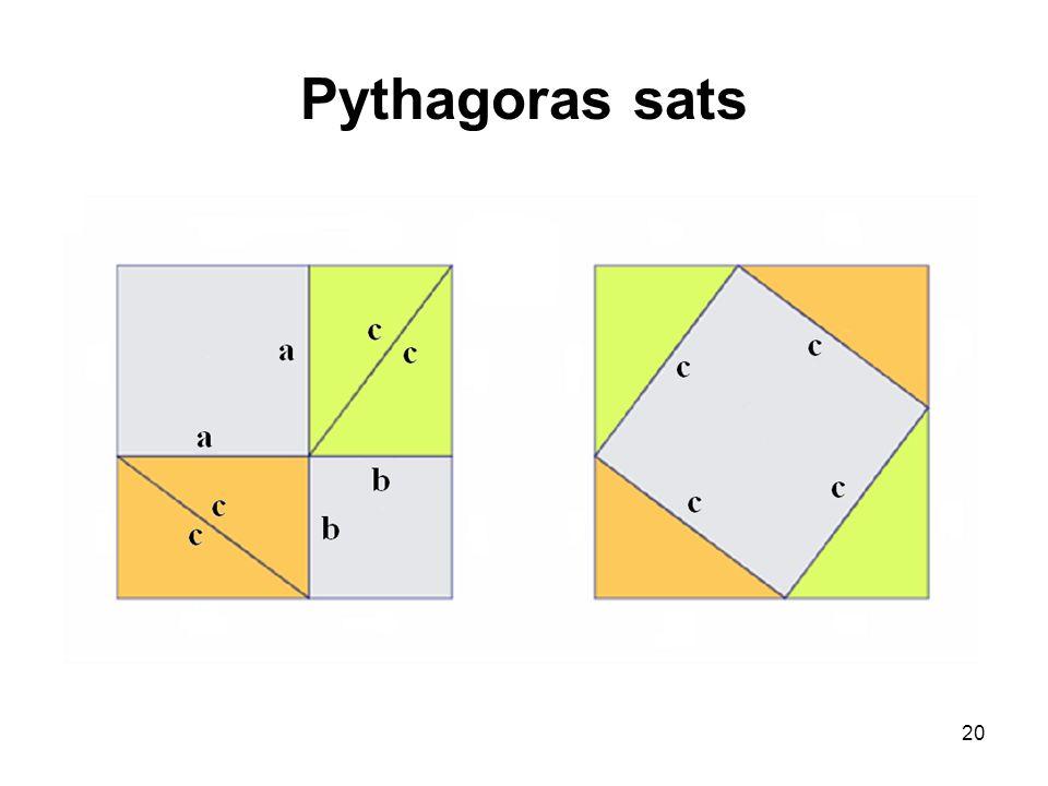 Pythagoras sats