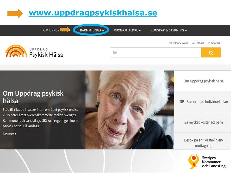 www.uppdragpsykiskhalsa.se WWW.UPPDRAGPSYKISKHALSA.SE