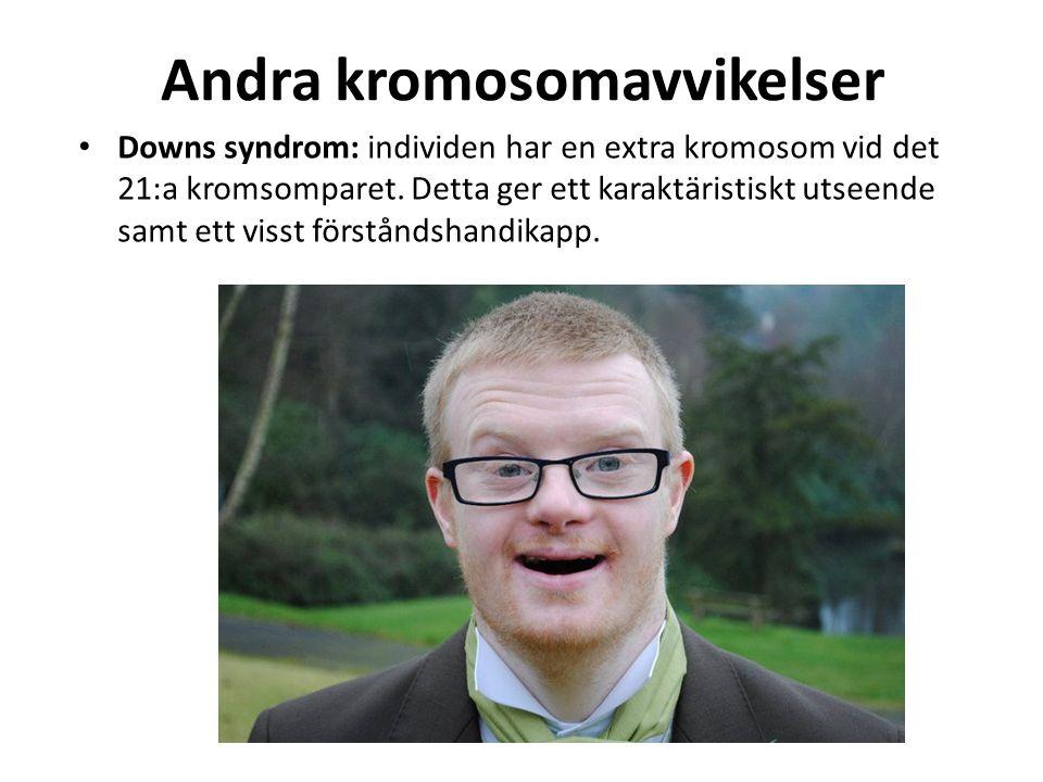 Andra kromosomavvikelser