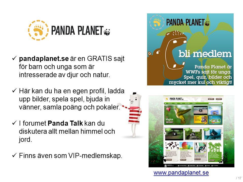 I forumet Panda Talk kan du diskutera allt mellan himmel och jord.