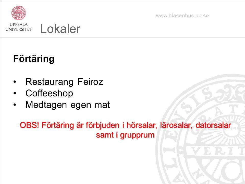 Lokaler Förtäring Restaurang Feiroz Coffeeshop Medtagen egen mat
