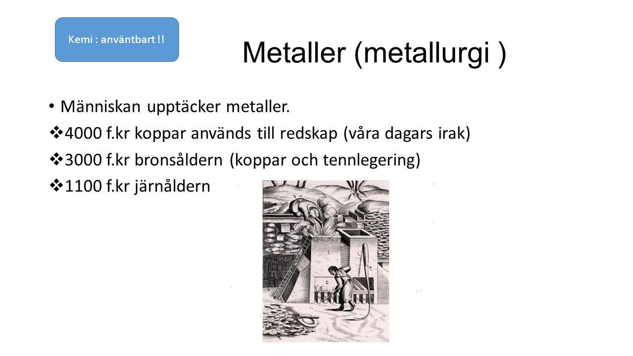Metaller (metallurgi )