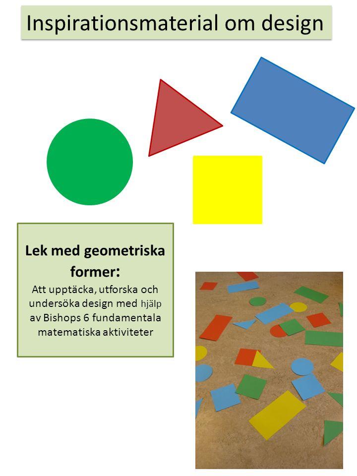 Lek med geometriska former: