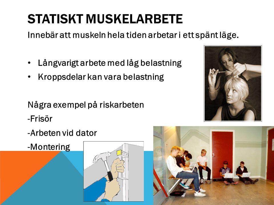 Statiskt muskelarbete