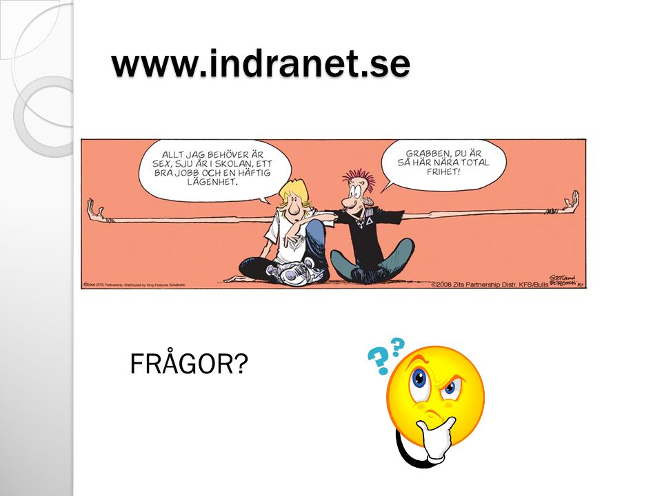 www.indranet.se FRÅGOR