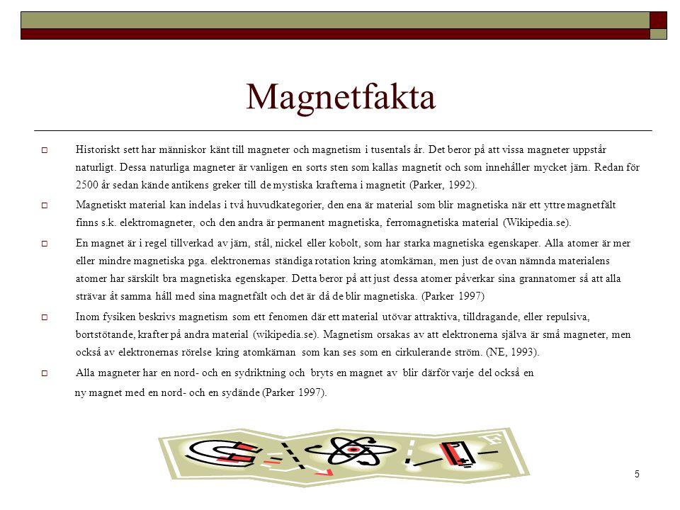 Magnetfakta