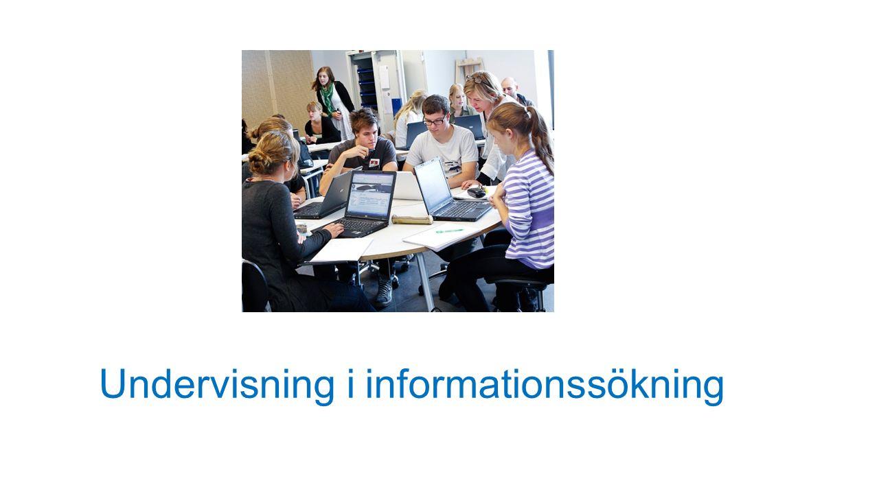 Undervisning i informationssökning