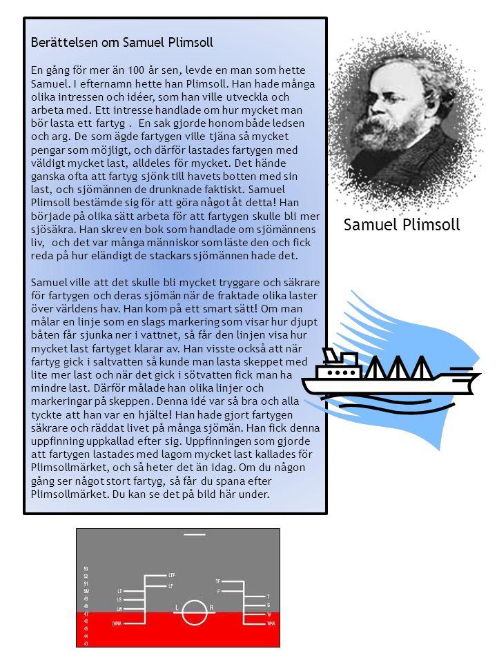 Samuel Plimsoll Berättelsen om Samuel Plimsoll