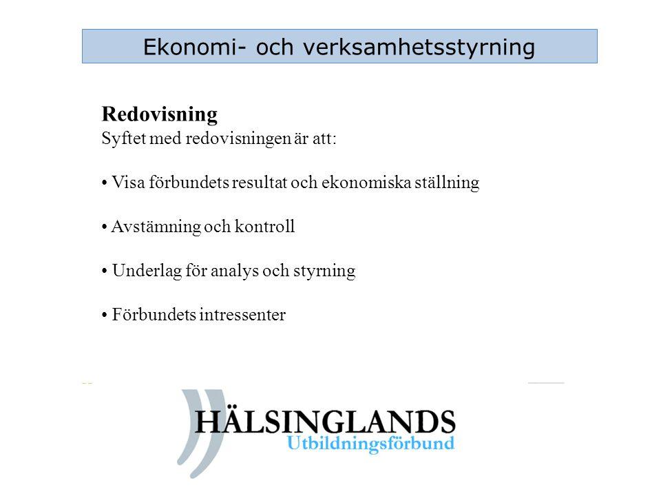 Ekonomi- och verksamhetsstyrning