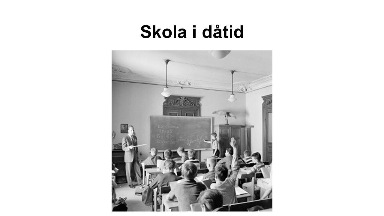 Skola i dåtid