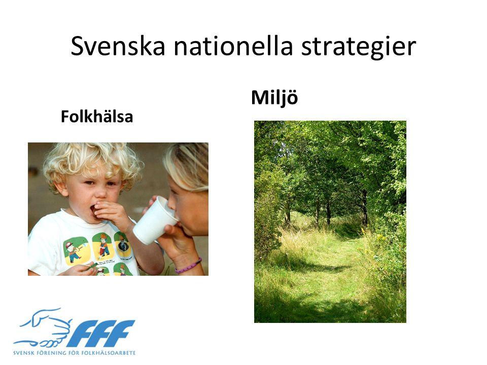 Svenska nationella strategier