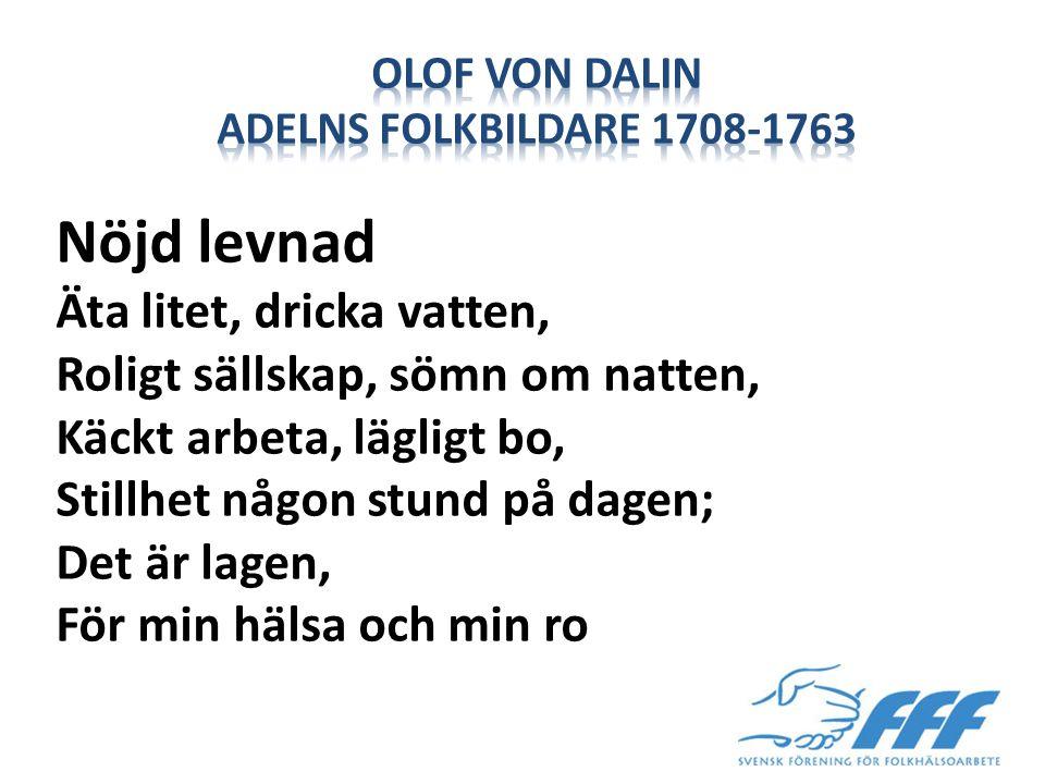 Olof von Dalin adelns folkbildare 1708-1763