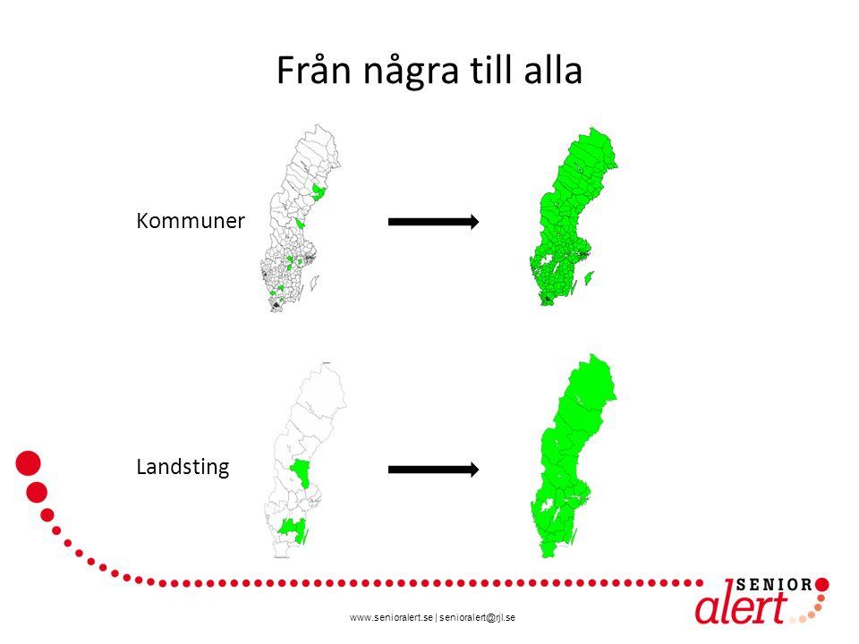Från några till alla Kommuner Landsting
