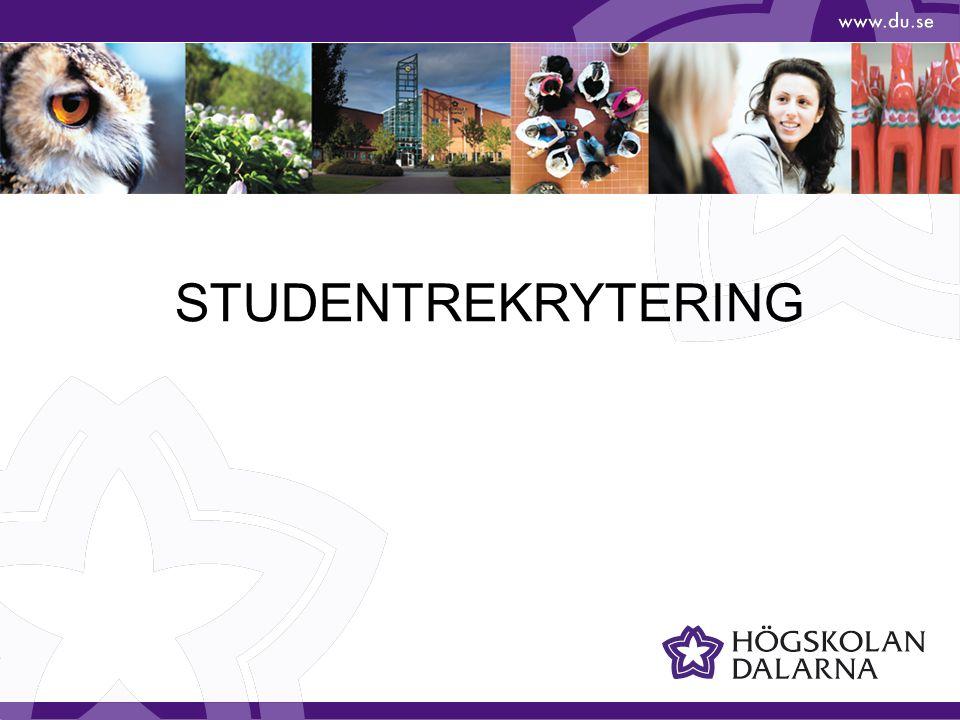 STUDENTREKRYTERING