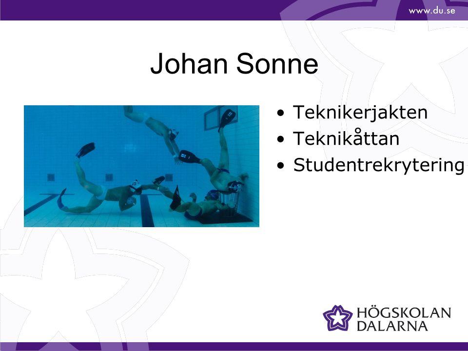Johan Sonne Teknikerjakten Teknikåttan Studentrekrytering