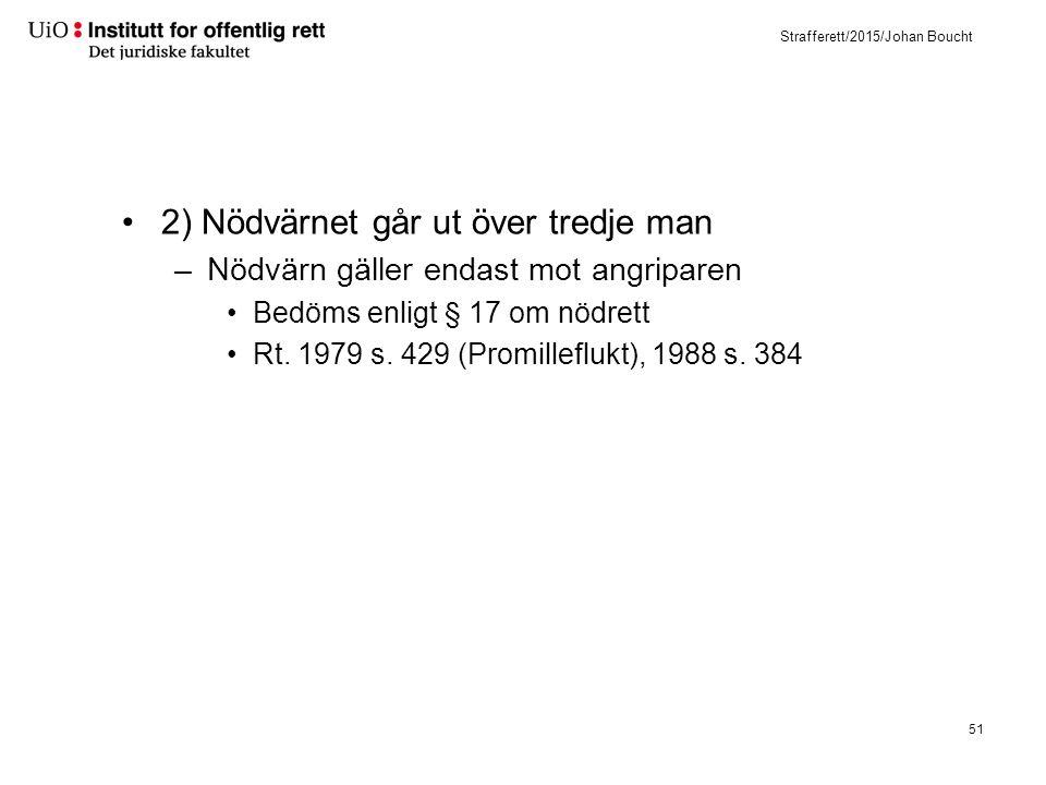2) Nødrett (strl. § 17)