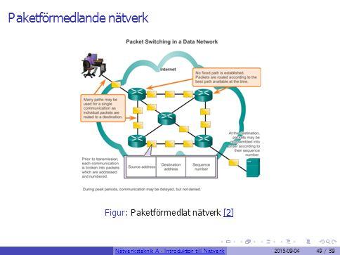 Paketförmedlande nätverk