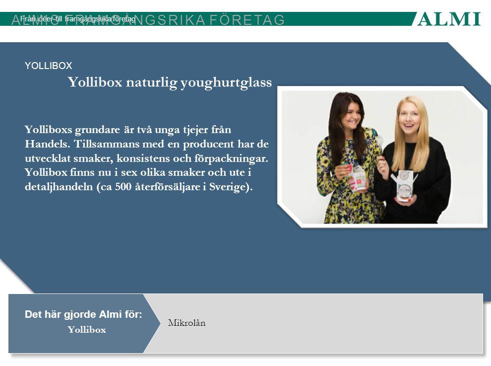 Yollibox naturlig youghurtglass