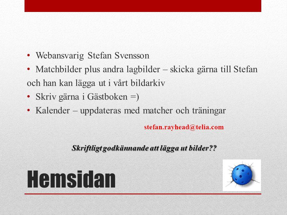 Hemsidan Webansvarig Stefan Svensson