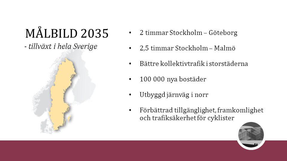 - tillväxt i hela Sverige