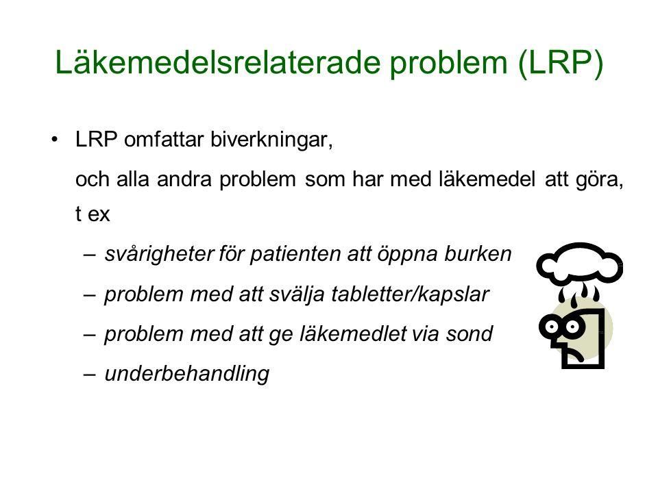 Läkemedelsrelaterade problem (LRP)