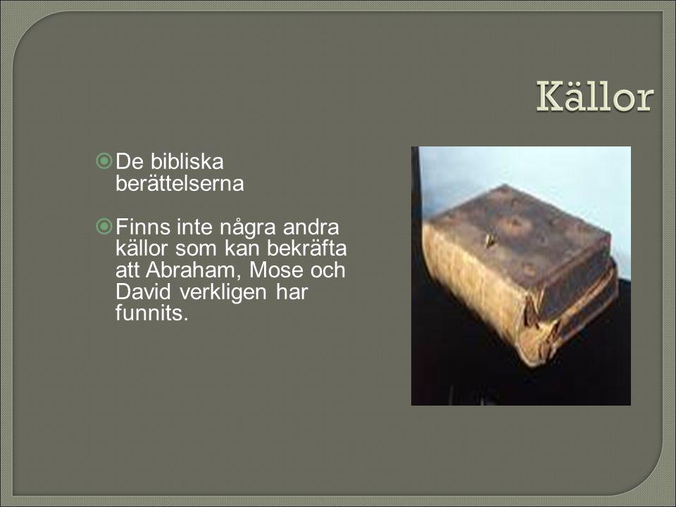 De bibliska berättelserna
