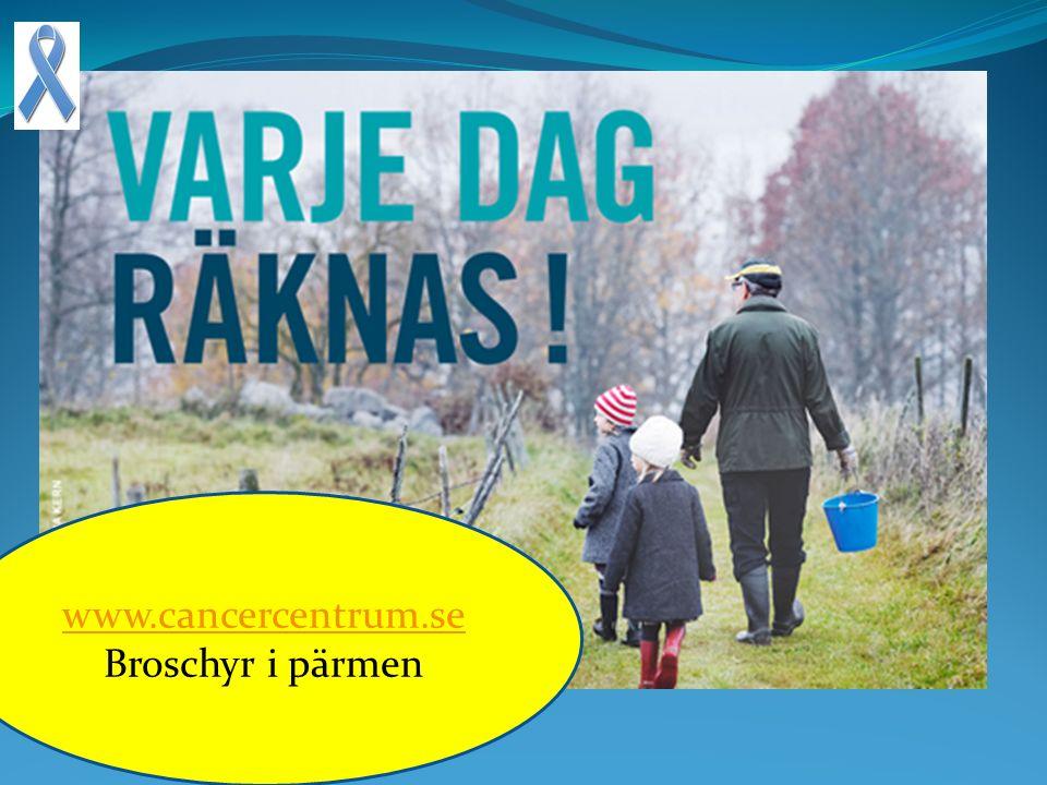 www.cancercentrum.se Broschyr i pärmen