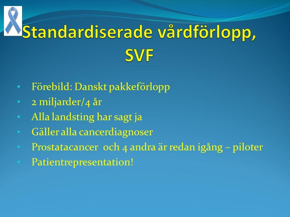 Standardiserade vårdförlopp, SVF