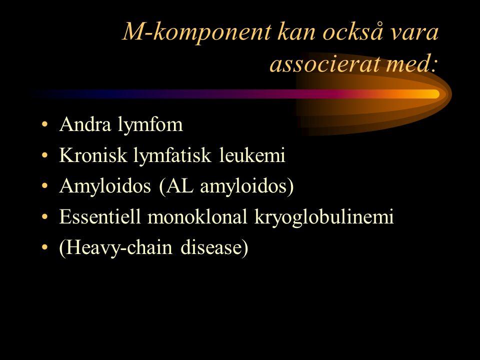 M-komponent kan också vara associerat med: