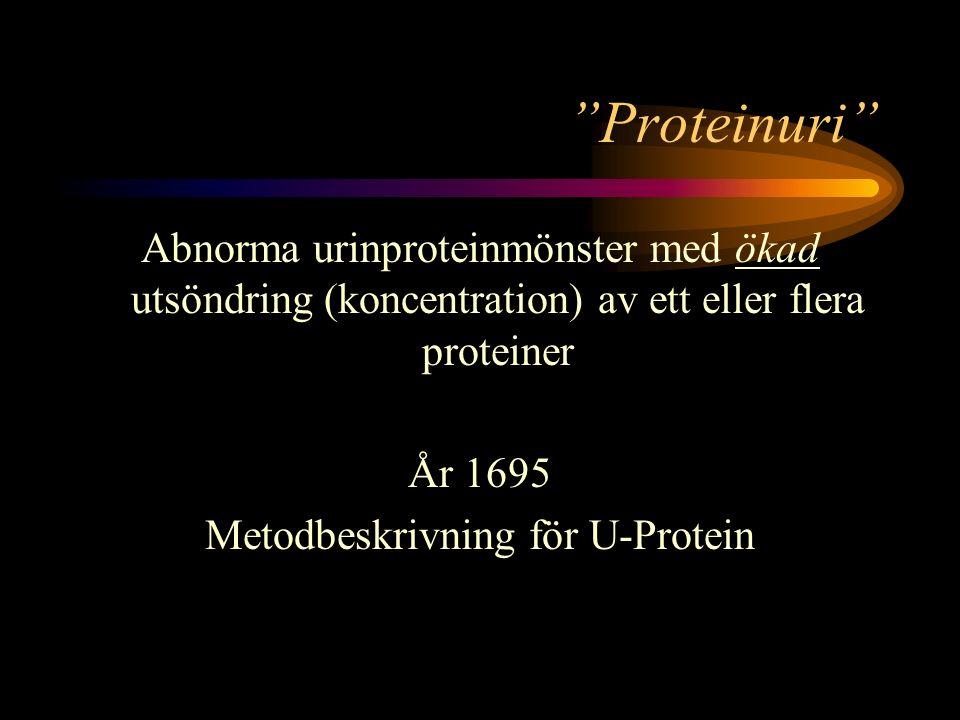 Metodbeskrivning för U-Protein