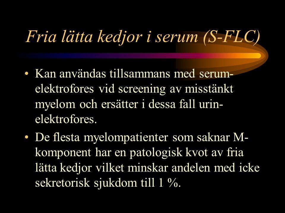 Fria lätta kedjor i serum (S-FLC)