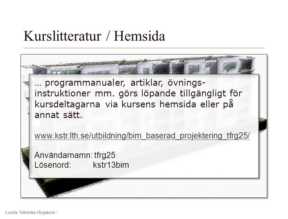 Kurslitteratur / Hemsida
