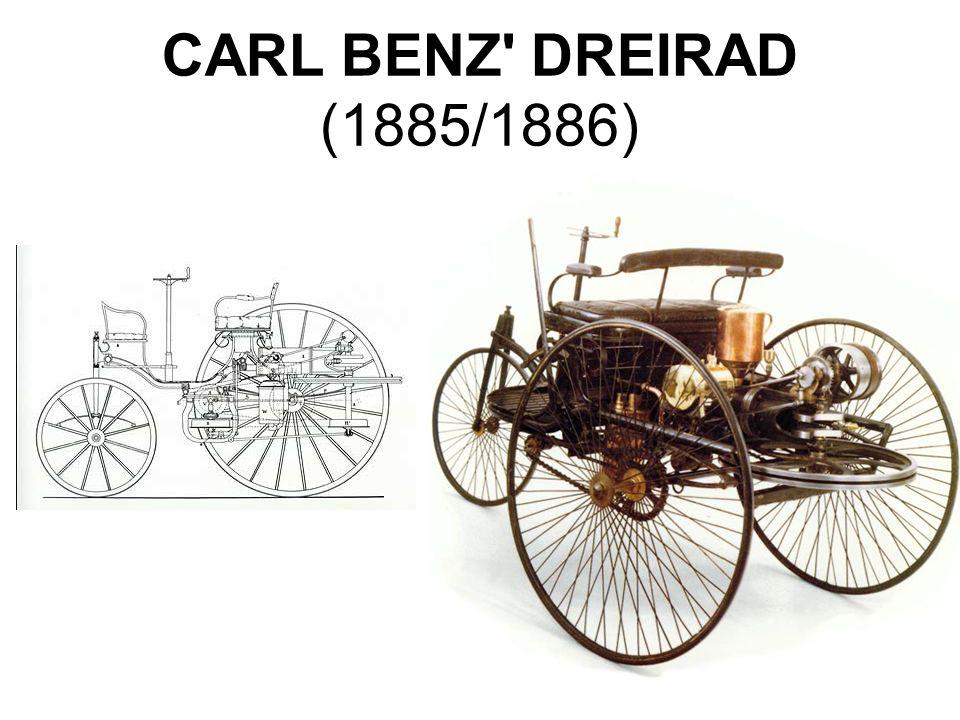 CARL BENZ DREIRAD (1885/1886)