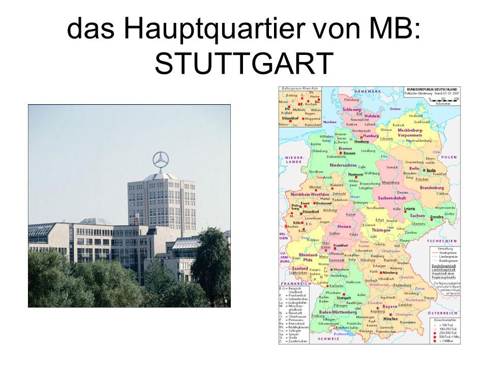 das Hauptquartier von MB: STUTTGART