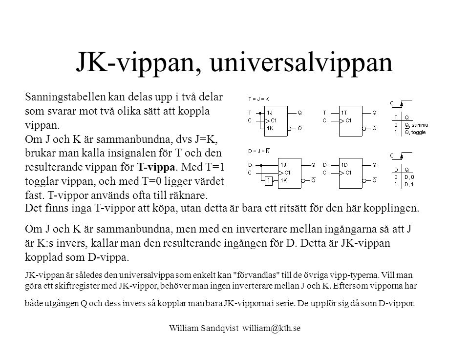 JK-vippan, universalvippan