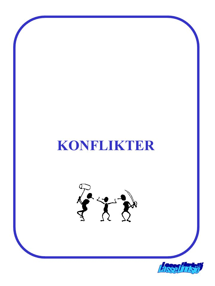 KONFLIKTER