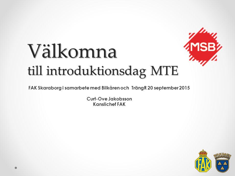 Välkomna till introduktionsdag MTE