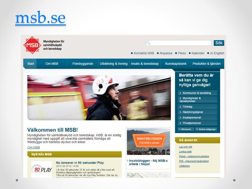 msb.se