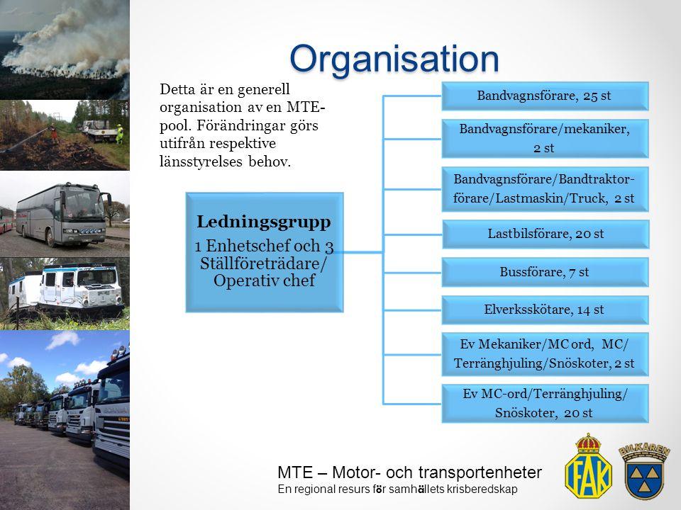 Organisation Ledningsgrupp