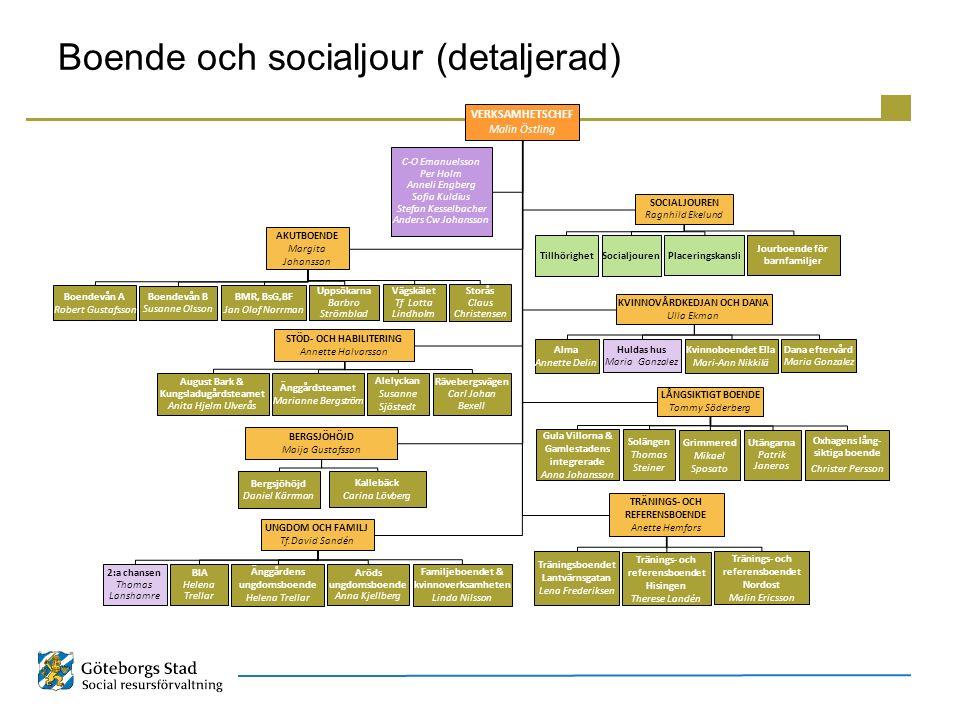 Boende och socialjour (detaljerad)