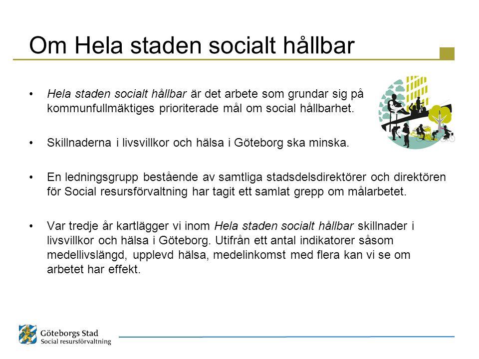 Om Hela staden socialt hållbar